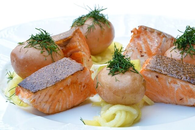 can domestic cats eat raw salmon